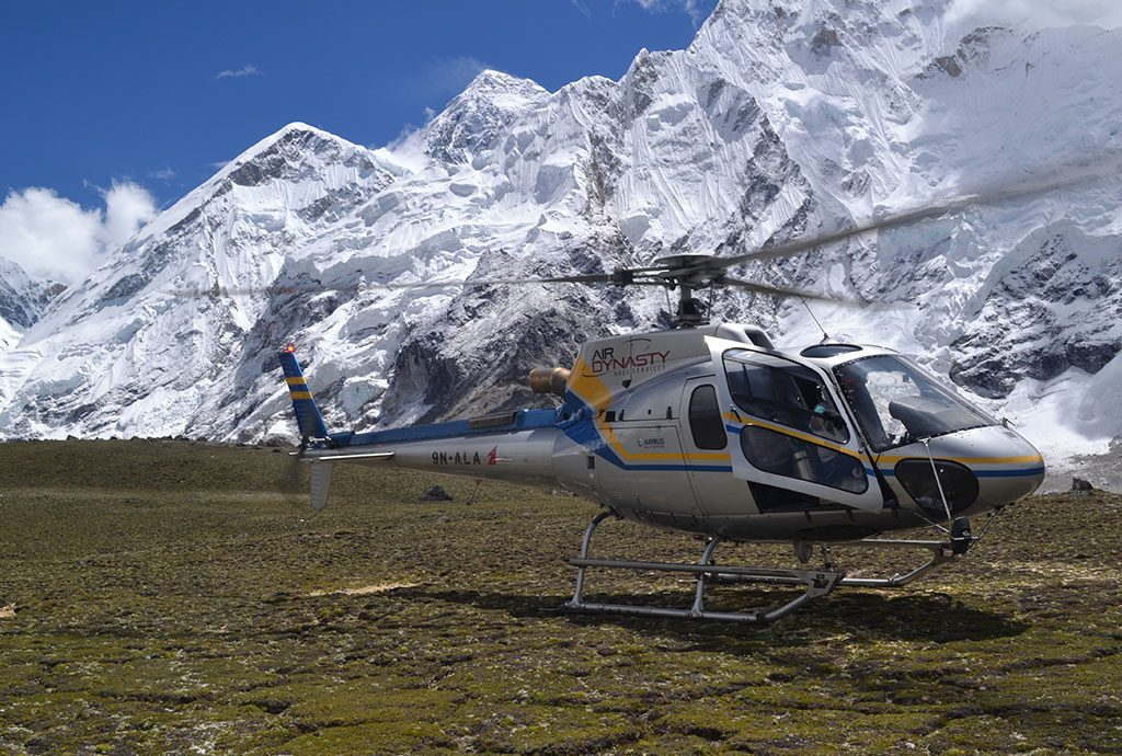 Everest Region via Helicopter
