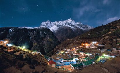 Helicopter Ride to Everest Base Camp