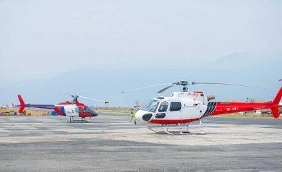 Helicopter Pickup and Drop to Meghauli Serai Resort (Hotel Taj Chitwan Nepal)