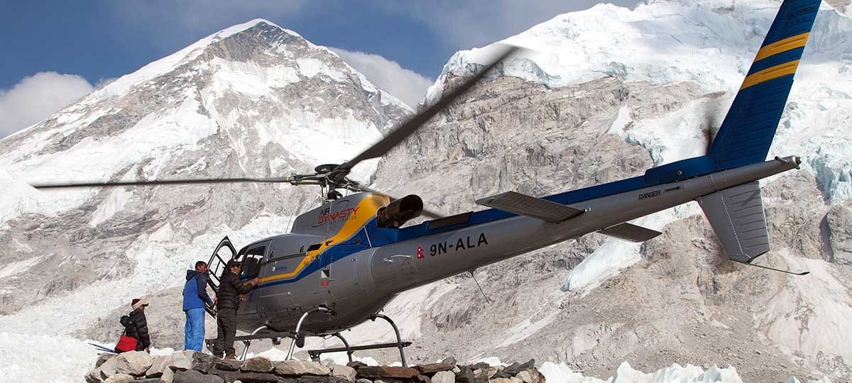 cost of helicopter ride in nepal