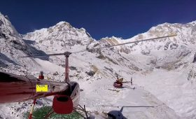 Annapurna Base Camp by Helicopter