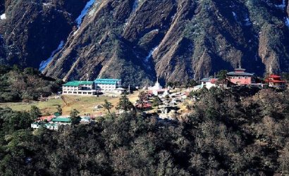 Pheriche to Kathmandu by Helicopter