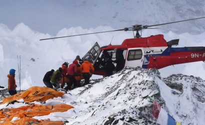Island Peak Helicopter Rescue