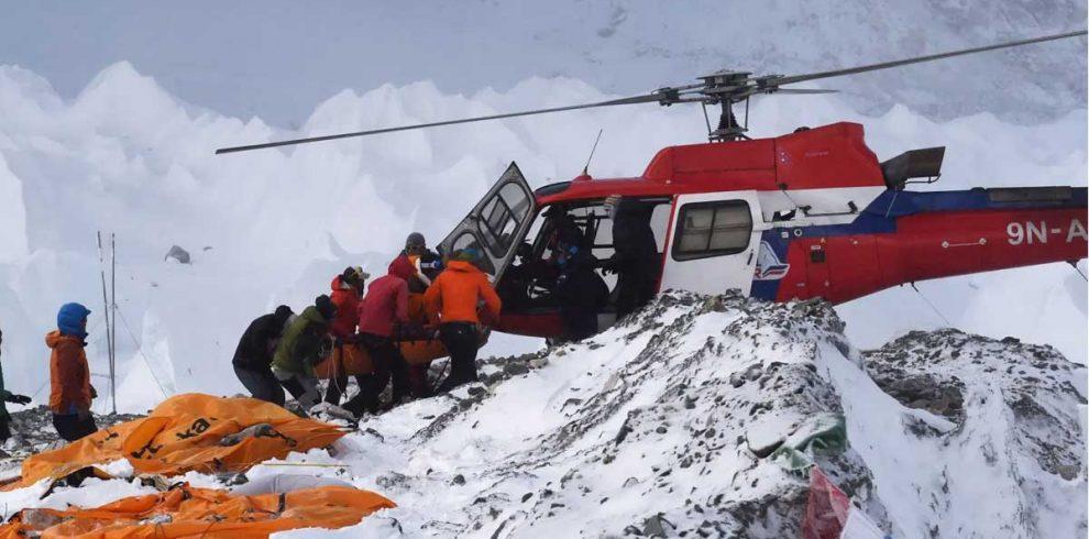 Island Peak Helicopter Rescue